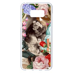 Victorian Collage Samsung Galaxy S8 Plus White Seamless Case