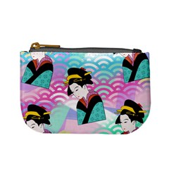 Japanese Abstract Mini Coin Purse