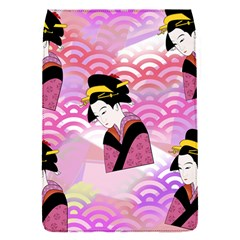 Japanese Abstract Pink Removable Flap Cover (s)