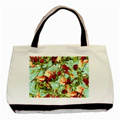 Fruit Blossom Basic Tote Bag (two Sides)