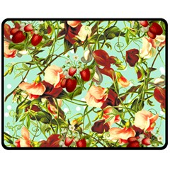 Fruit Blossom Fleece Blanket (medium)