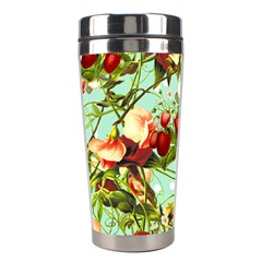 Fruit Blossom Stainless Steel Travel Tumblers