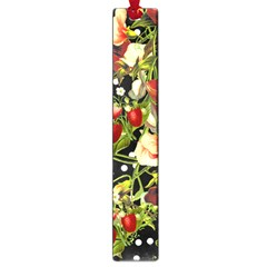 Fruit Blossom Black Large Book Marks