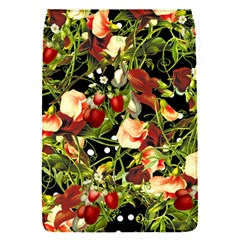 Fruit Blossom Black Removable Flap Cover (s)