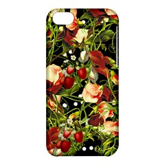 Fruit Blossom Black Apple Iphone 5c Hardshell Case