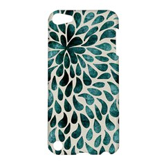 Teal Abstract Swirl Drops Apple Ipod Touch 5 Hardshell Case
