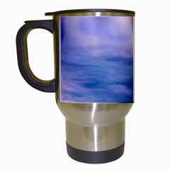 Waterfall Travel Mugs (white)