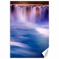 Waterfall Canvas 12  X 18
