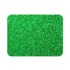 Green Glitter Double Sided Flano Blanket (mini)