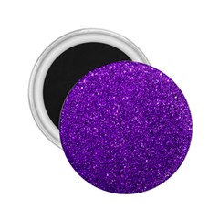 Purple  Glitter 2 25  Magnets