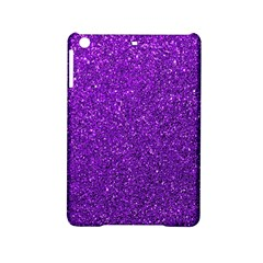 Purple  Glitter Ipad Mini 2 Hardshell Cases by snowwhitegirl