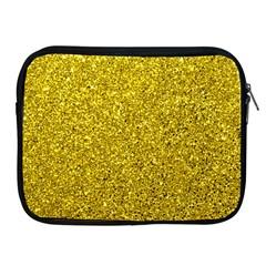 Gold  Glitter Apple Ipad 2/3/4 Zipper Cases