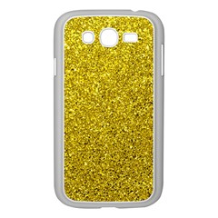 Gold  Glitter Samsung Galaxy Grand Duos I9082 Case (white)