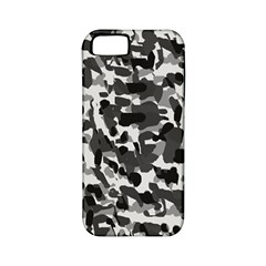Grey Camo Apple Iphone 5 Classic Hardshell Case (pc+silicone)