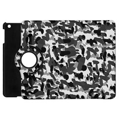 Grey Camo Apple Ipad Mini Flip 360 Case
