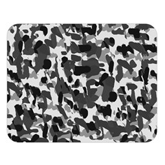 Grey Camo Double Sided Flano Blanket (large)