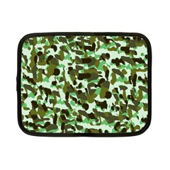 Brownish Green Camo Netbook Case (small)