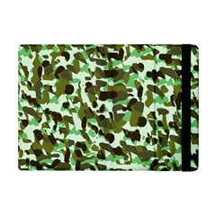 Brownish Green Camo Ipad Mini 2 Flip Cases by snowwhitegirl