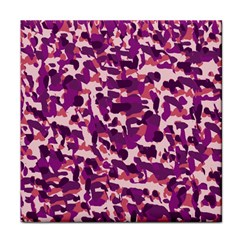 Pink Camo Face Towel by snowwhitegirl