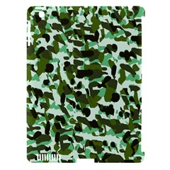 Green Camo Apple Ipad 3/4 Hardshell Case (compatible With Smart Cover)