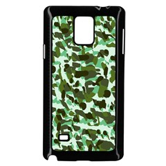 Green Camo Samsung Galaxy Note 4 Case (black)