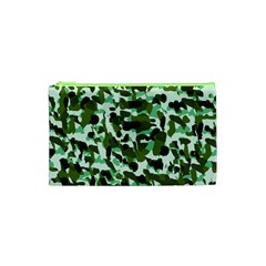 Green Camo Cosmetic Bag (xs)
