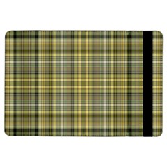 Yellow Plaid Ipad Air Flip