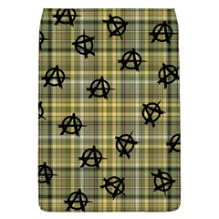 Yellow Plaid Anarchy Removable Flap Cover (l)