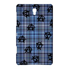 Blue  Plaid Anarchy Samsung Galaxy Tab S (8 4 ) Hardshell Case