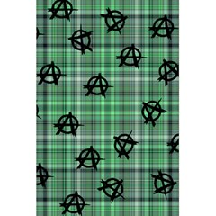Green  Plaid Anarchy 5 5  X 8 5  Notebooks by snowwhitegirl