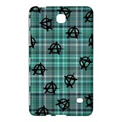 Aqua  Plaid Anarchy Samsung Galaxy Tab 4 (7 ) Hardshell Case