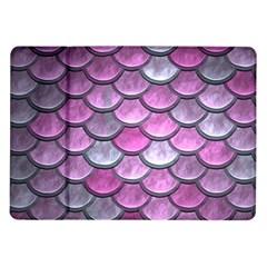 Pink Mermaid Scale Samsung Galaxy Tab 10 1  P7500 Flip Case