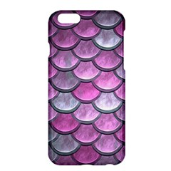 Pink Mermaid Scale Apple Iphone 6 Plus/6s Plus Hardshell Case by snowwhitegirl
