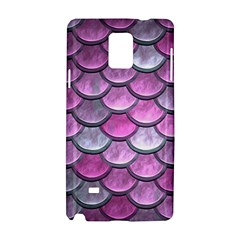 Pink Mermaid Scale Samsung Galaxy Note 4 Hardshell Case