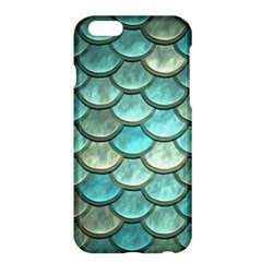 Aqua Mermaid Scale Apple Iphone 6 Plus/6s Plus Hardshell Case
