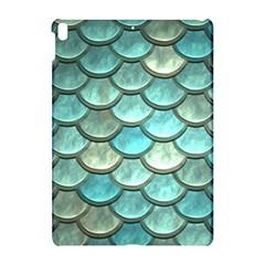Aqua Mermaid Scale Apple Ipad Pro 10 5   Hardshell Case