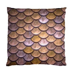 Copper Mermaid Scale Standard Cushion Case (two Sides)