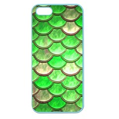 Green Mermaid Scale Apple Seamless Iphone 5 Case (color)
