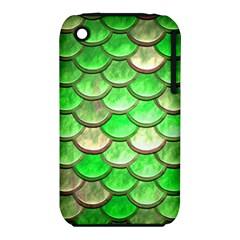 Green Mermaid Scale Iphone 3s/3gs