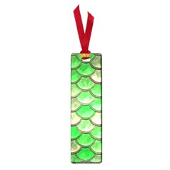 Green Mermaid Scale Small Book Marks