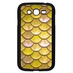 Yellow  Mermaid Scale Samsung Galaxy Grand Duos I9082 Case (black)