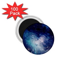 Nebula Blue 1 75  Magnets (100 Pack)