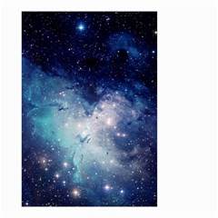 Nebula Blue Small Garden Flag (two Sides)