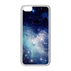 Nebula Blue Apple Iphone 5c Seamless Case (white)