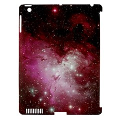 Nebula Red Apple Ipad 3/4 Hardshell Case (compatible With Smart Cover)