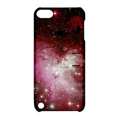 Nebula Red Apple Ipod Touch 5 Hardshell Case With Stand