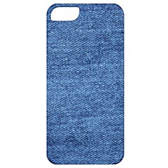 Blue Denim Apple Iphone 5 Classic Hardshell Case