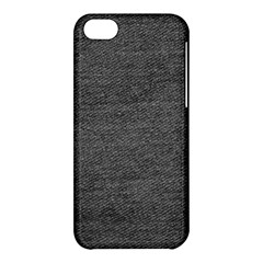 Black Denim Apple Iphone 5c Hardshell Case