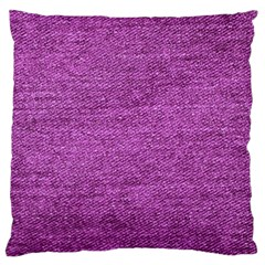 Purple Denim Standard Flano Cushion Case (one Side)