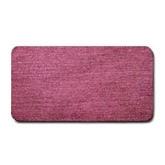 Pink  Denim Medium Bar Mats by snowwhitegirl